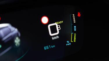 Peugeot e-208 - dials