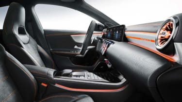 2019 Mercedes CLA leaked picture cabin