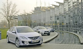 Mazda 6 vs Ford Mondeo vs Volkswagen Passat