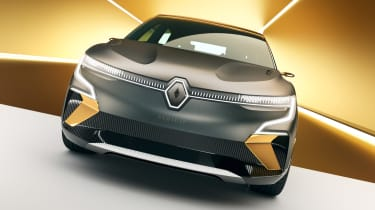 Renault Megane eVision - full front