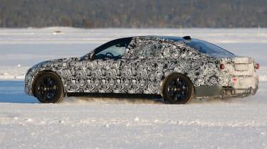 New BMW 7 Series rear three quarter