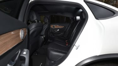 Mercedes GLC Coupe - back seats