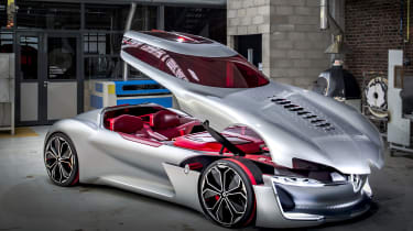 Renault Trezor concept front roof up