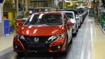Honda's Swindon factory - production line