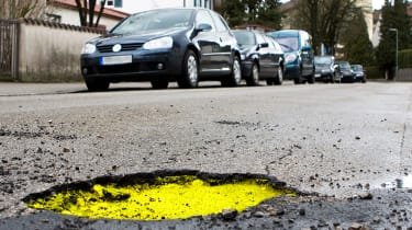 Potholes left to grow as DfT underspends its budget