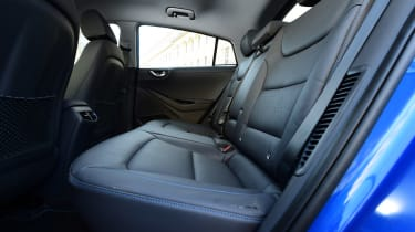 Hyundai Ioniq Plug-in long term - first report rear seats