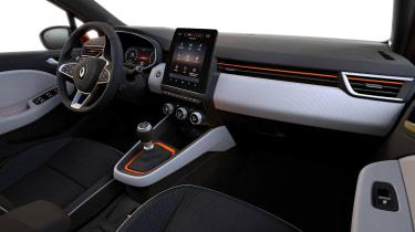 Renault Clio - dashboard
