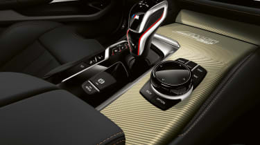 BMW M5 Edition 35 Years - transmission