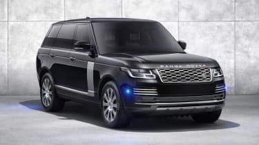 Range Rover Sentinel lighting