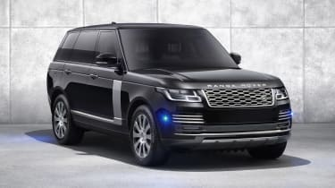 Range Rover Sentinel lighting
