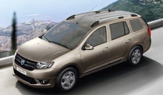 Dacia Logan MCV estate front three quarters