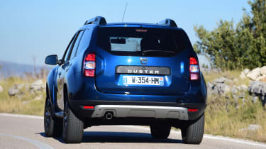 Dacia Duster facelift - rear cornering