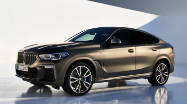 BMW X6 - front/side