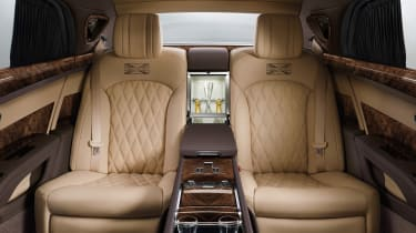 Bentley Mulsanne First Edition - rear seats