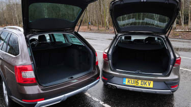 SEAT Leon X-Perience vs Skoda Octavia Scout - boots