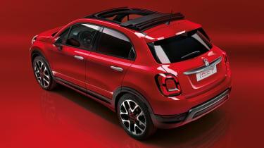 Fiat (500X)RED - rear