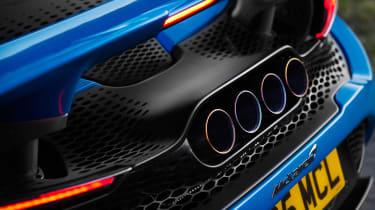 McLaren 765LT Spider - exhausts