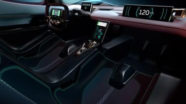 NextEV NIO EP9 electric hypercar - interior