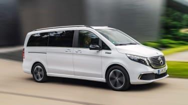 Mercedes EQV - front/side