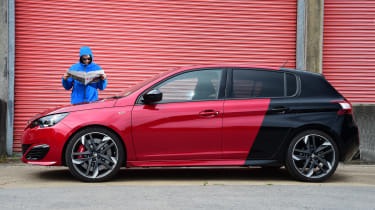 Long-term test review Peugeot 308 GTi - second report header
