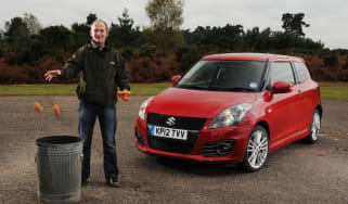 Suzuki Swift Sport front static