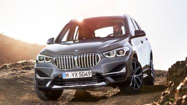 BMW X1 - front cornering