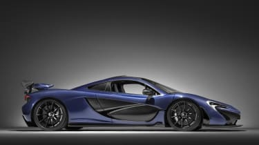 McLaren Special Operations P1 - side