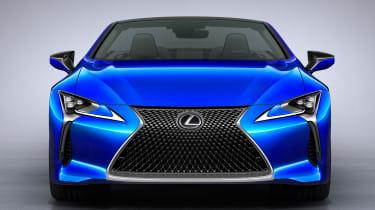 Lexus LC Convertible - full front