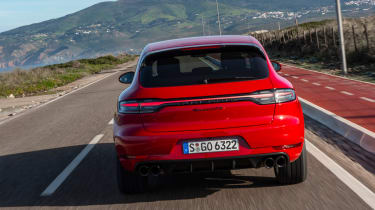 Porsche Macan GTS - full rear