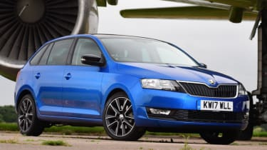 Skoda Rapid Spaceback - static front