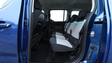 citroen berlingo xl rear seats