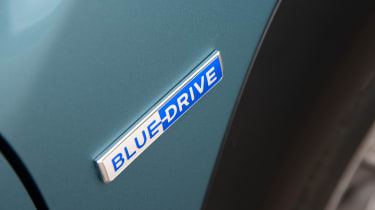 Hyundai Kona electric Blue Drive badge