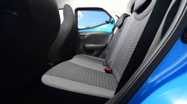 Toyota Aygo - Rear Seats