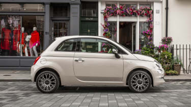 Fiat 500 side static