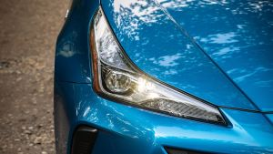 Toyota Prius headlight