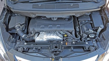Used Vauxhall Zafira Tourer - engine