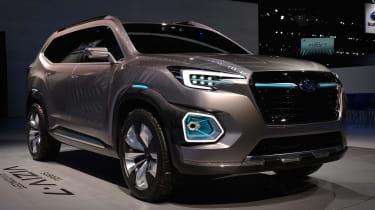 Subaru VIZIV-7 SUV Concept - LA Motor Show front