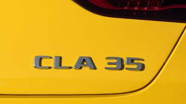 Mercedes-AMG CLA 35 - CLA 35 badge