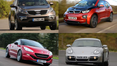 Best cars for under £15,000
