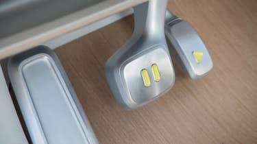 Volkswagen I.D. Buzz concept review - pedals