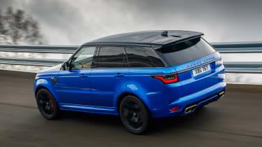 Range Rover Sport SVR - rear above