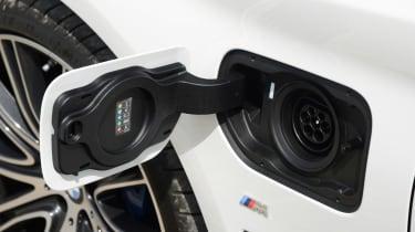 BMW 530e - charging port