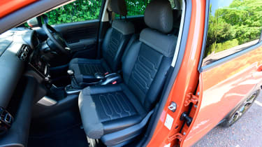 Citroen C3 Aircross long-term test - front seats