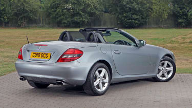 Used Mercedes SLK - rear