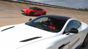 Red Arrows Aston Martin - tracking