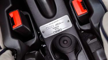 Fiat 500 Riva - plaque