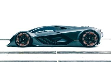 Lamborghini Terzo Millennio - side