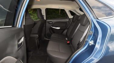 Suzuki Baleno long-term - rear seats