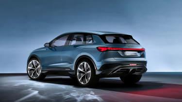 Audi Q4 e-tron concept - rear static