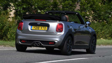 MINI Cooper S Convertible - rear